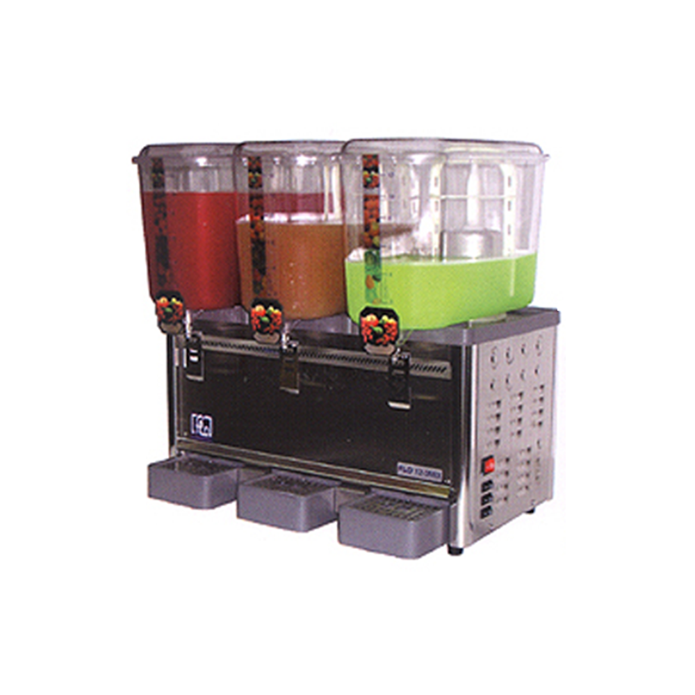 Triple Tank Mixer Type Cold Drink Dispenser | Flomatic Industries
