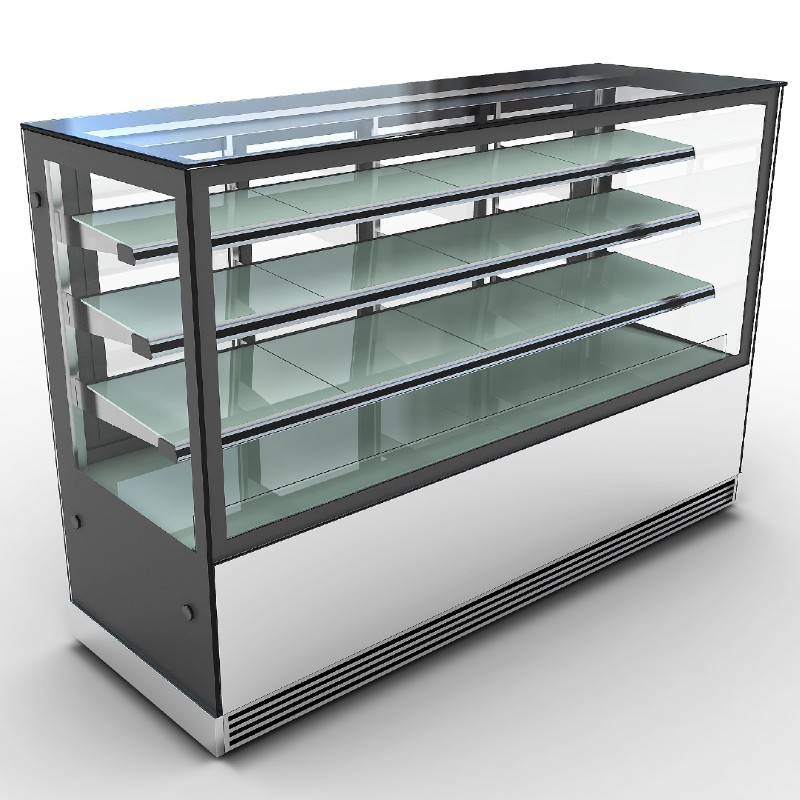 4 Tier Cake Display Showcase | Commercial Chillers & Freezers