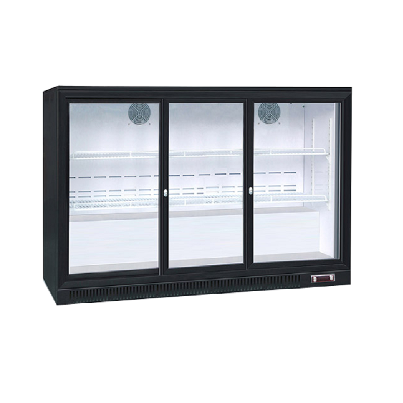 Sliding Door Back Bar Cooler | Flomatic Industries Upright Chillers & Freezers