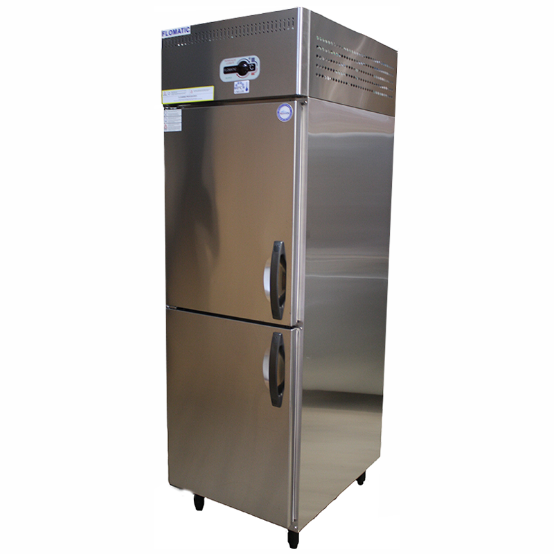 Upright 2 Door Refrigerator | Flomatic Industries Commercial Chillers & Freezers