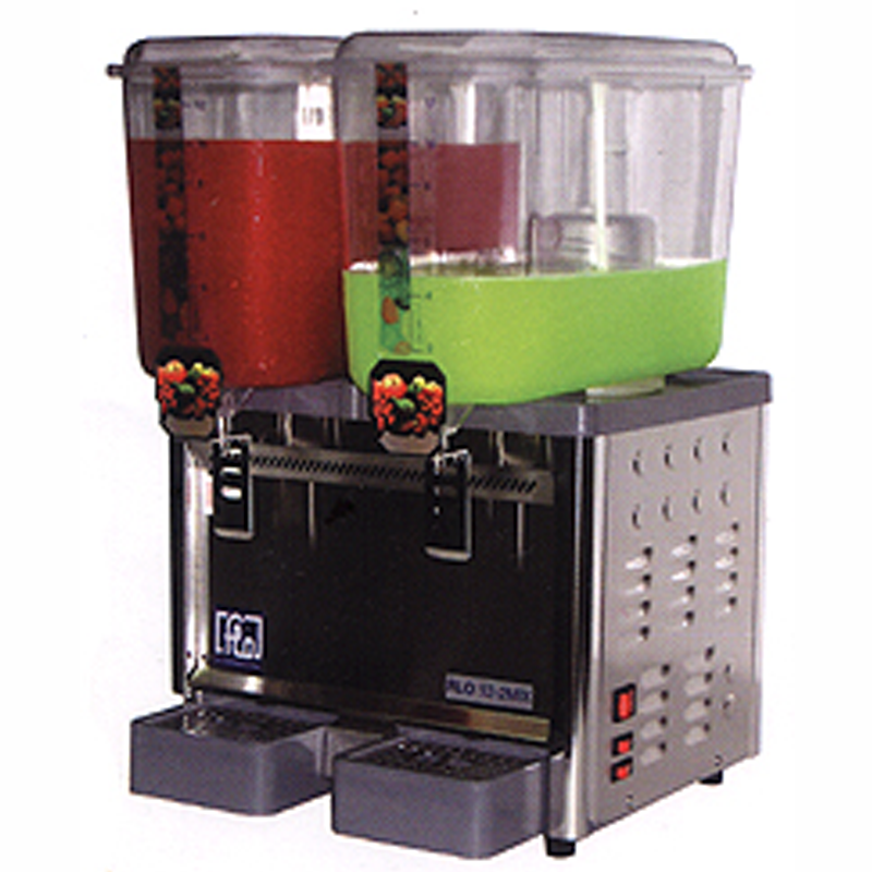 2 Tank Mixer Type Cold Drink Dispenser | Flomatic Industries