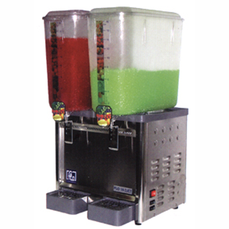 2 Tank Spray/Jet Type Cold Drink Dispenser | Flomatic Industries