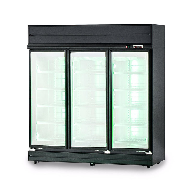 FDR-R1885 BFG Upright 3 Door Display Chiller | Flomatic Industries