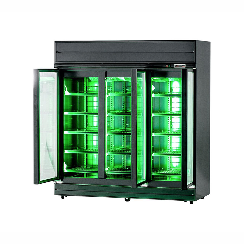 3 Door Glass Display Fridge (Variant) | Flomatic Industries Upright Chillers & Freezers