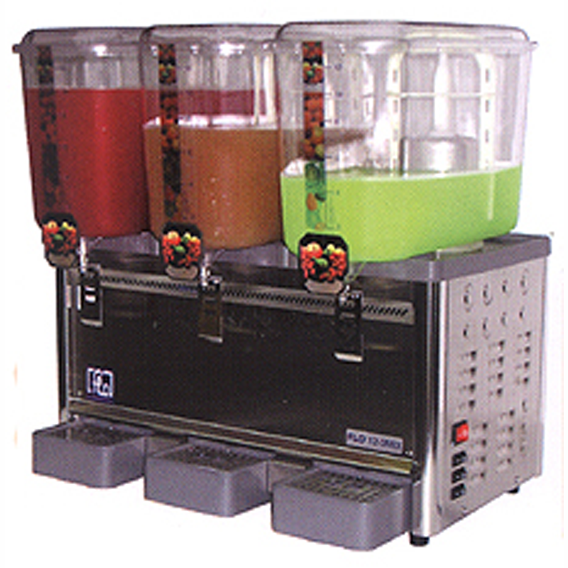 3 Tank Mixer Type Cold Drink Dispenser | Flomatic Industries