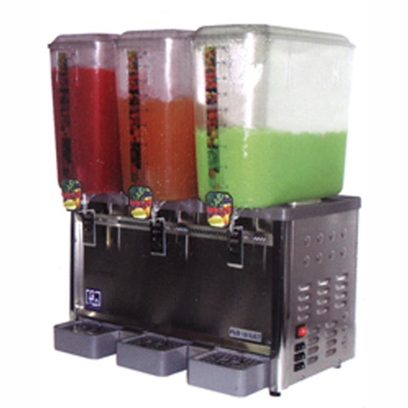 Triple Tank Spray/Jet Type Cold Drink Dispenser | Flomatic Industries