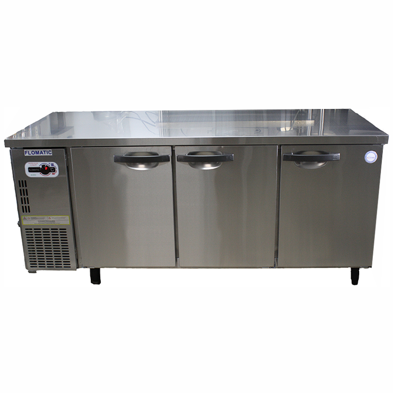 Undercounter 3 Door Freezer & Chiller | Flomatic Industries