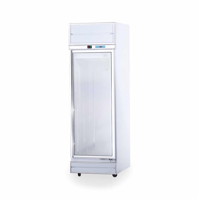 Upright 1 Door Display Chiller | Flomatic Industries Commercial Chillers & Freezers